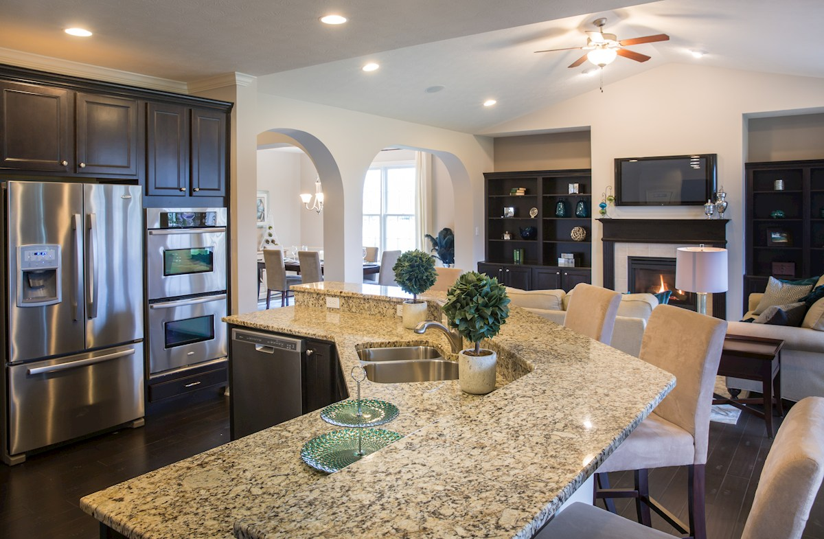 Hampshire Meridian Collection  Capitol Cook like a chef in this gourmet kitchen