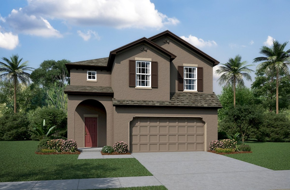 Cypress Pointe Elevation Spanish Colonial L
