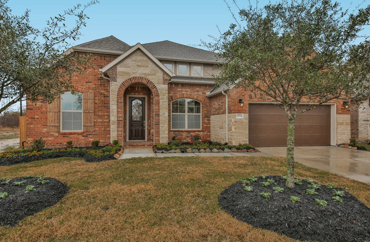 Fredericksburg Elevation French Country quick move-in