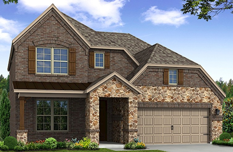 Brookhaven Elevation French Country Q