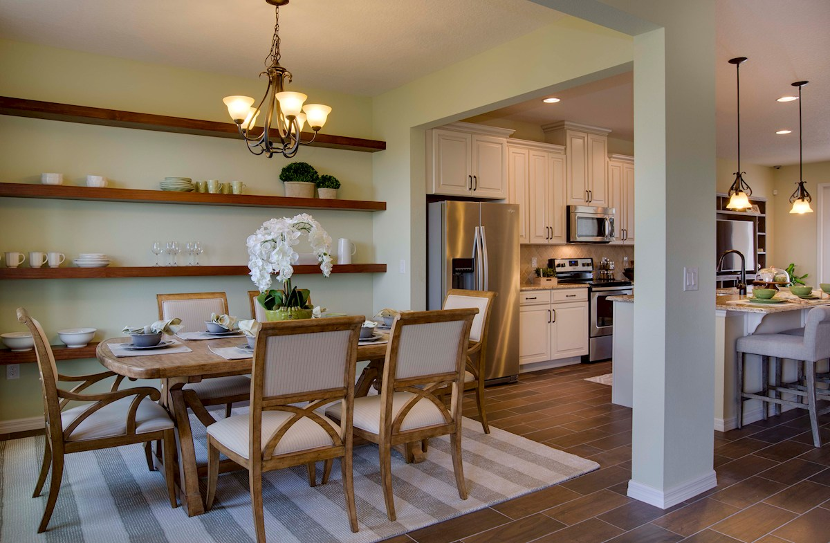 Summerlake Townhomes Providence elegant dining room
