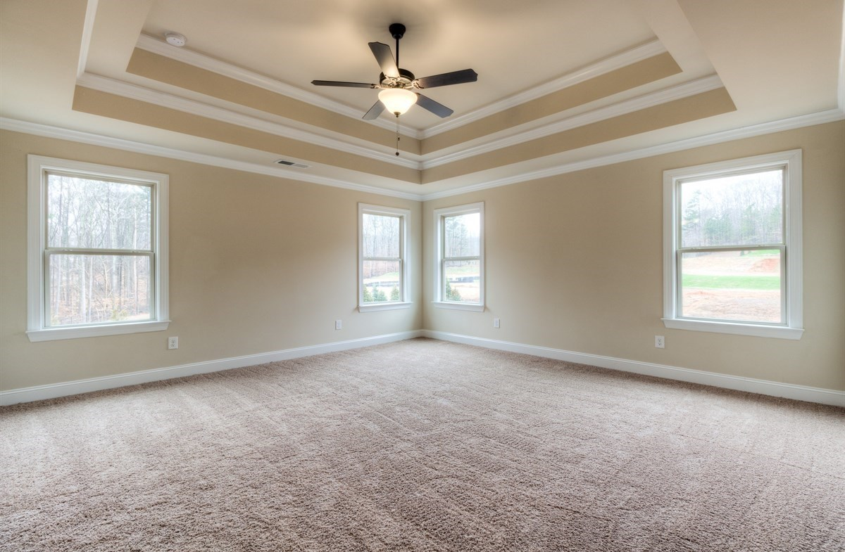 Stockton quick move-in Master Bedroom with tray ceiling