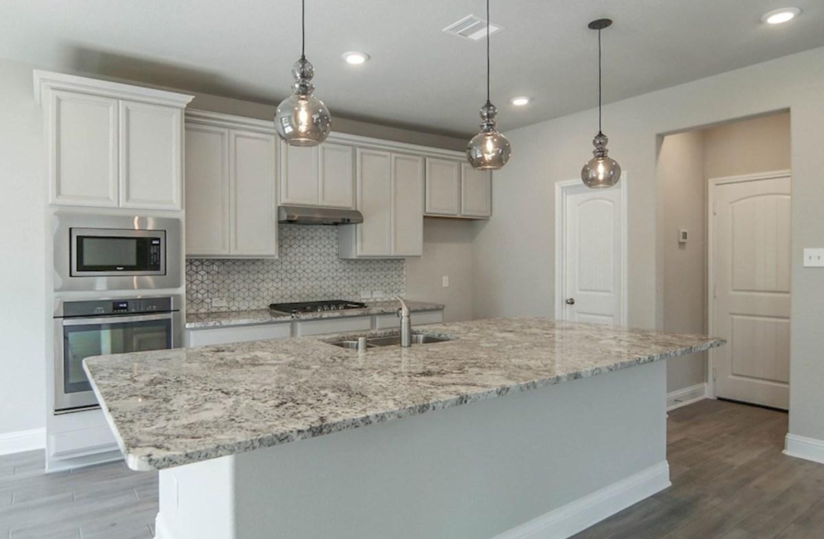 Sycamore quick move-in spacious kitchen with granite island