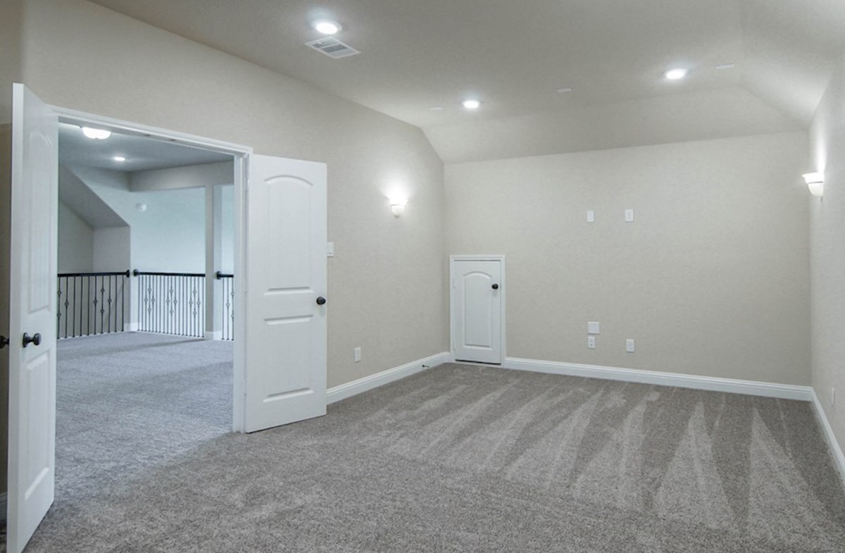 Lockhart quick move-in spacious media room with double doors