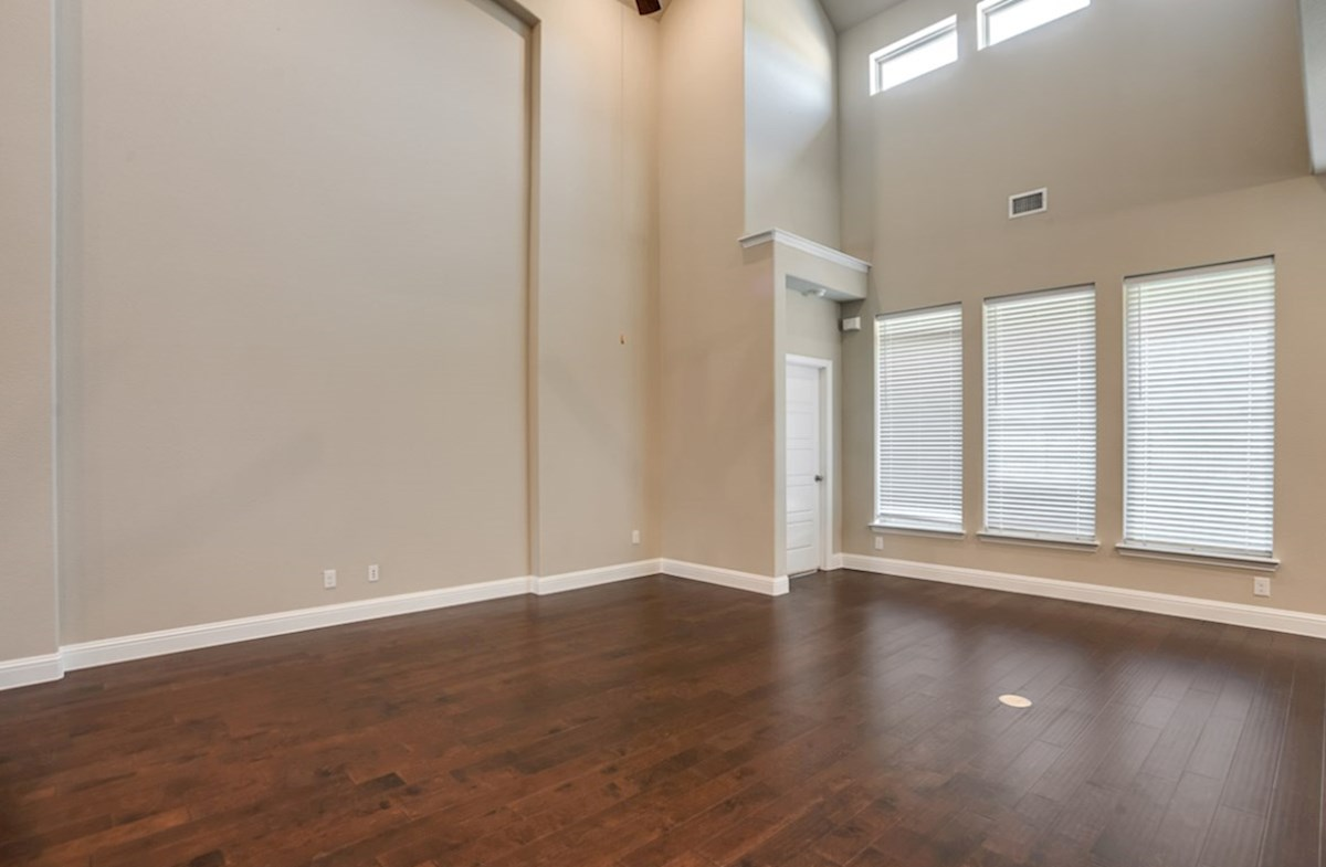 Summerfield quick move-in Summerfield great room with large windows