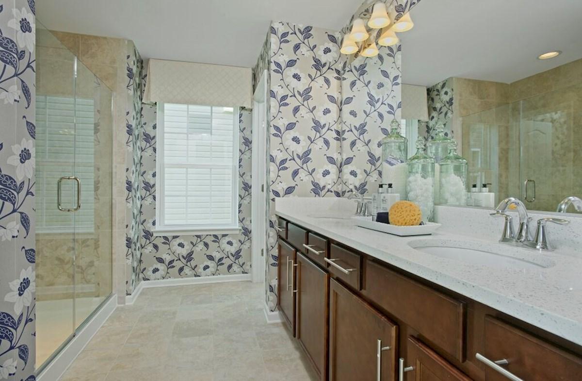 The Preserve at Windlass Run - Single Family Homes Harrison luxurious master bathroom