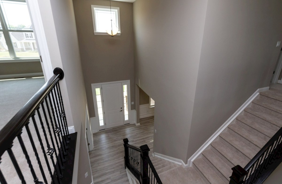 Tarkington quick move-in Welcoming 2-story foyer