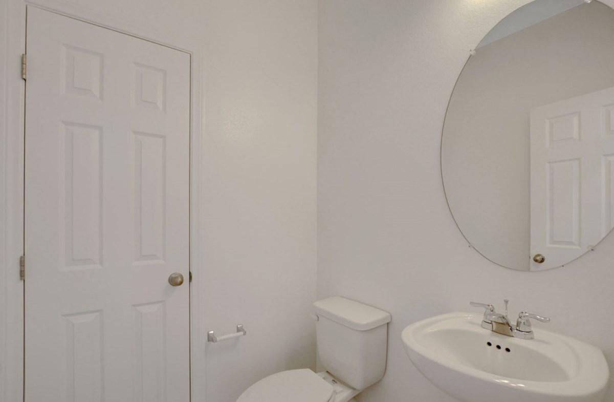 Verano quick move-in convenient powder room