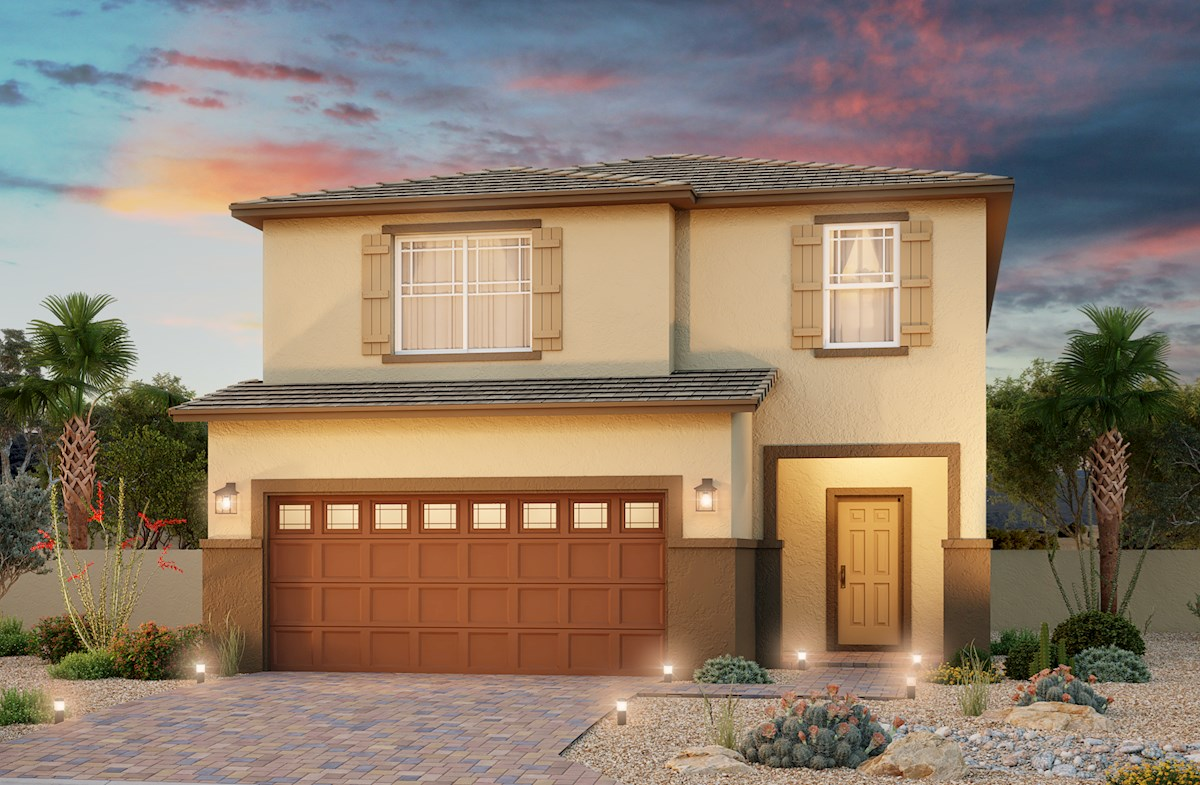 Lovely two story home with 2-car garage