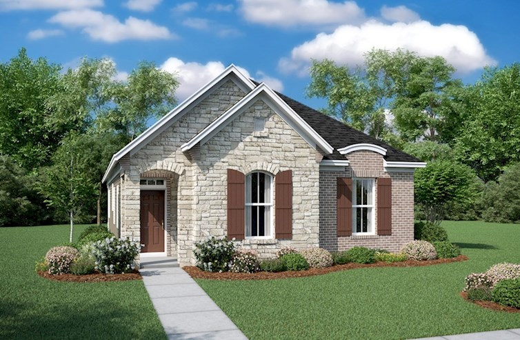 Finley Elevation French Country L