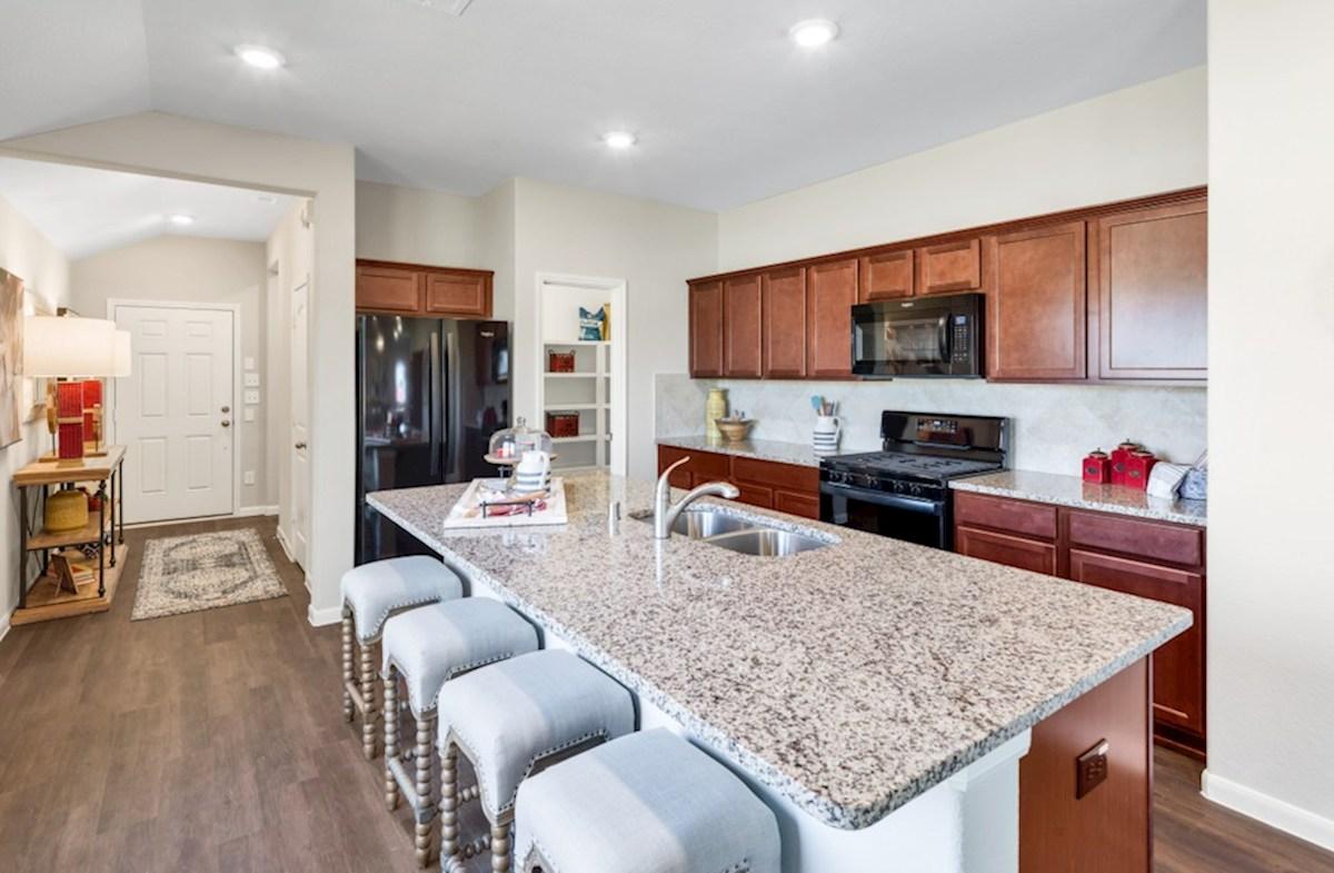 Lantana Austin kitchen with granite countertops