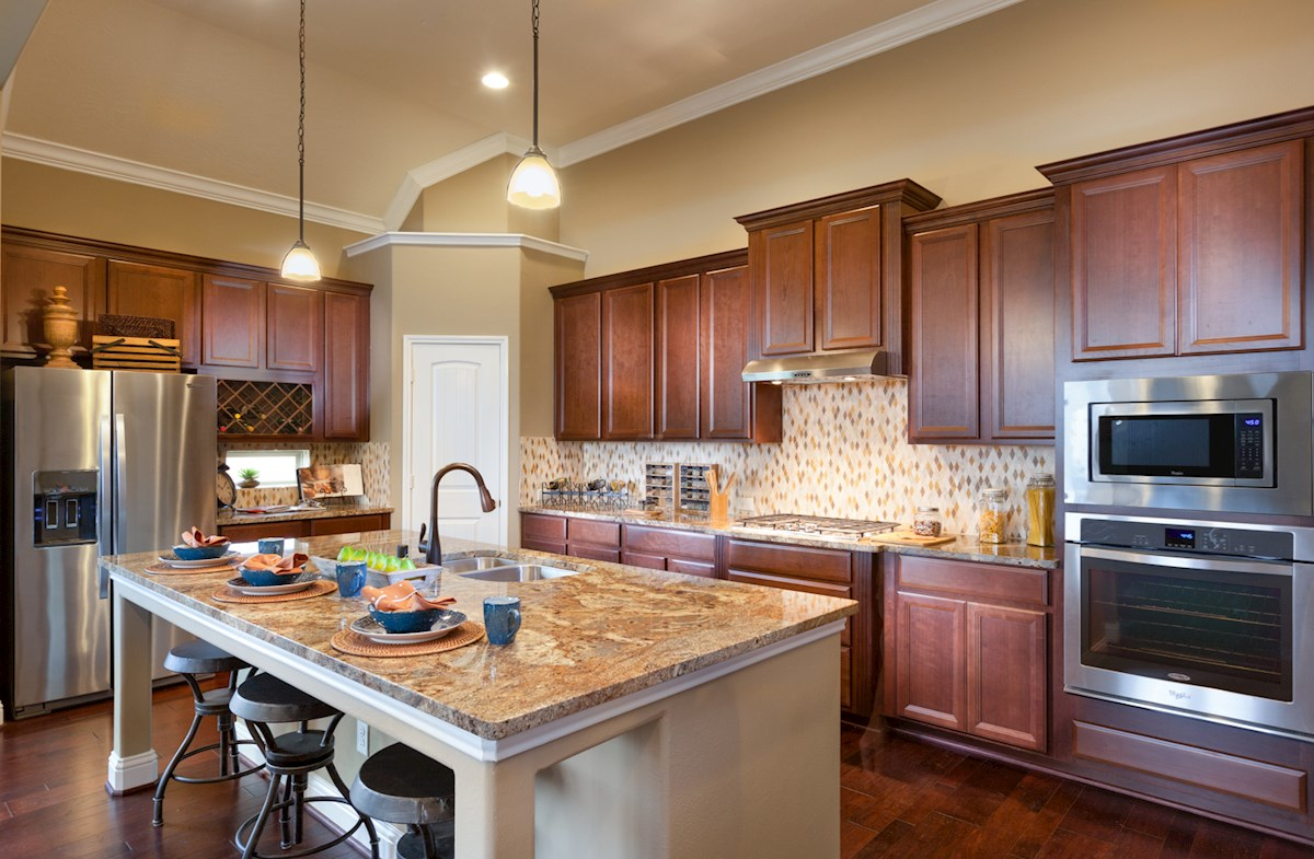 Cameron kitchen offers granite island