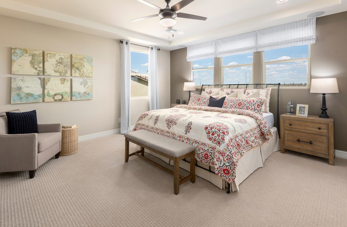 Hudson Master Bedroom