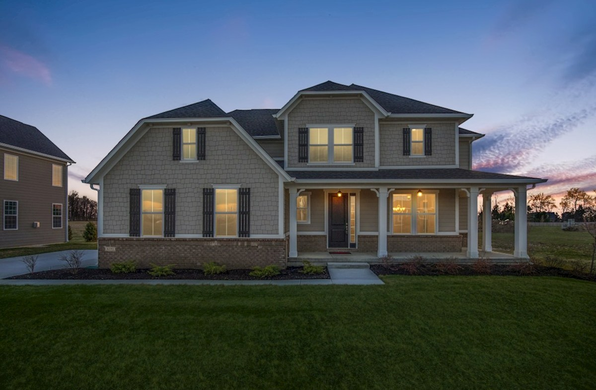 Keystone Elevation French Country quick move-in