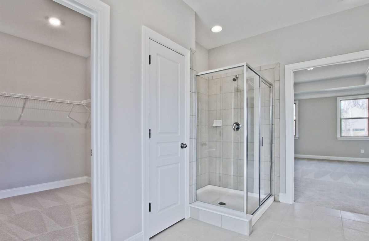 Amelia II quick move-in Master Bath with stall shower