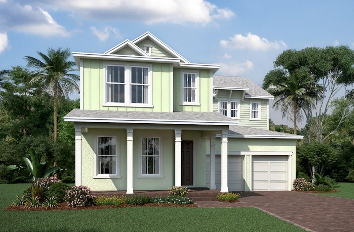 Cascade home plan in windermere isle windermere fl for Cascade house