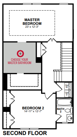 Main floor plan for 3rd Floor