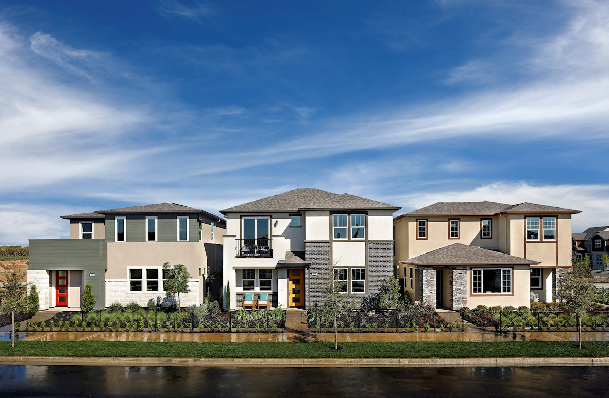 westward model homes exterior