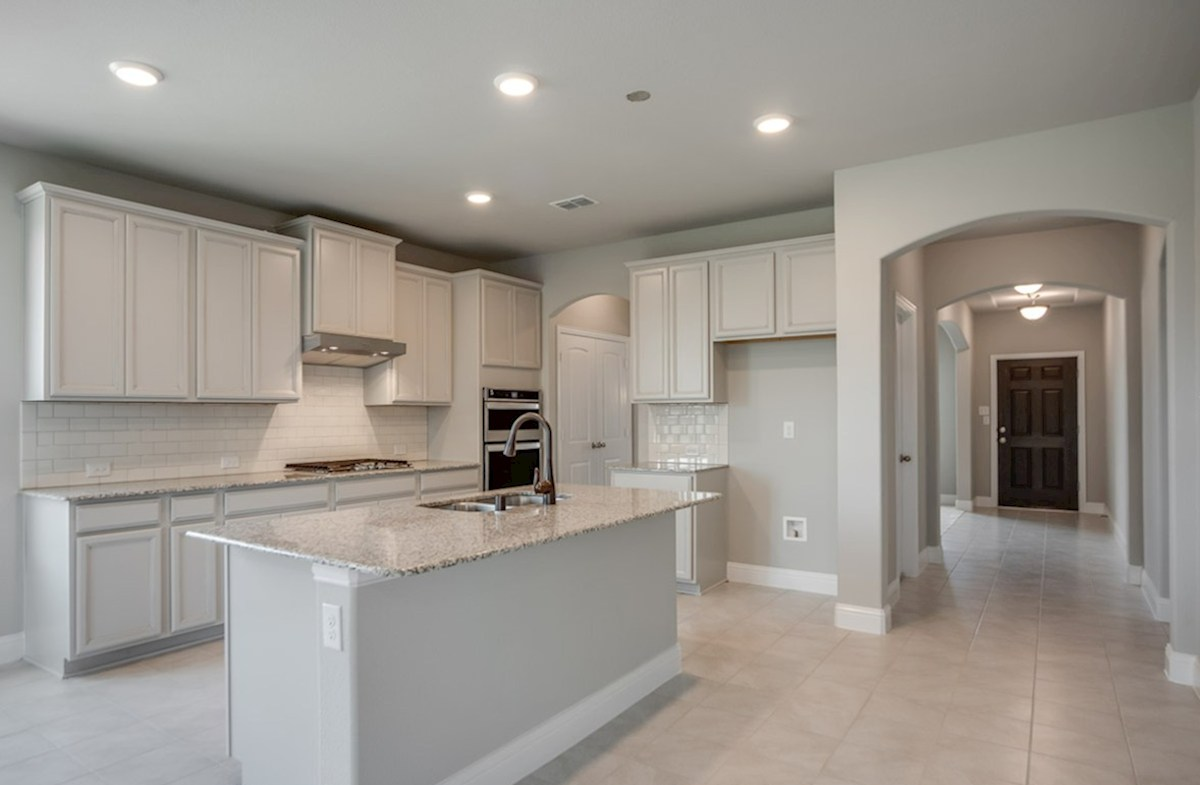 Prescott quick move-in open kitchen with large island