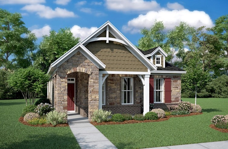 Finley Elevation French Country M