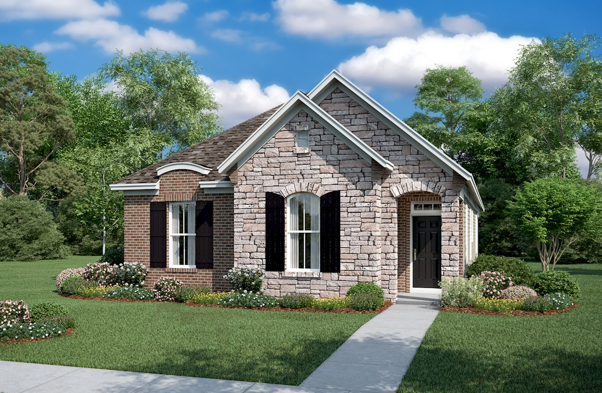 Finley French Country L Exterior
