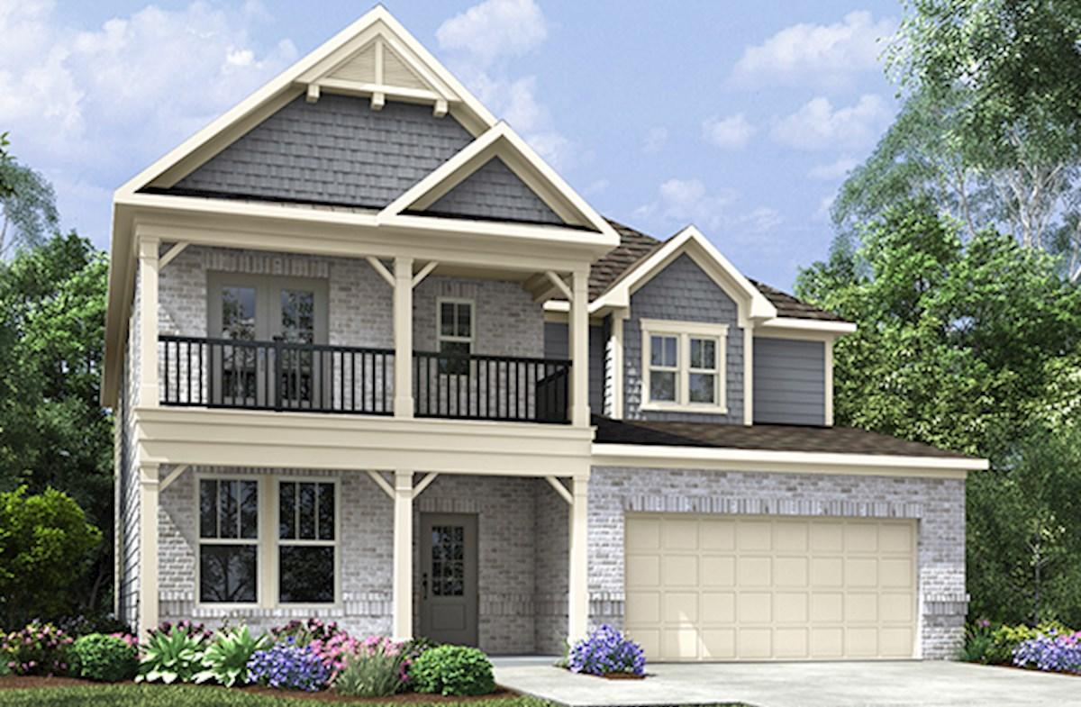 Dogwood Ii Home Plan In Kensington Auburn Ga Beazer