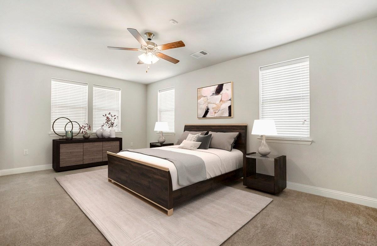Sherwood Master bedroom
