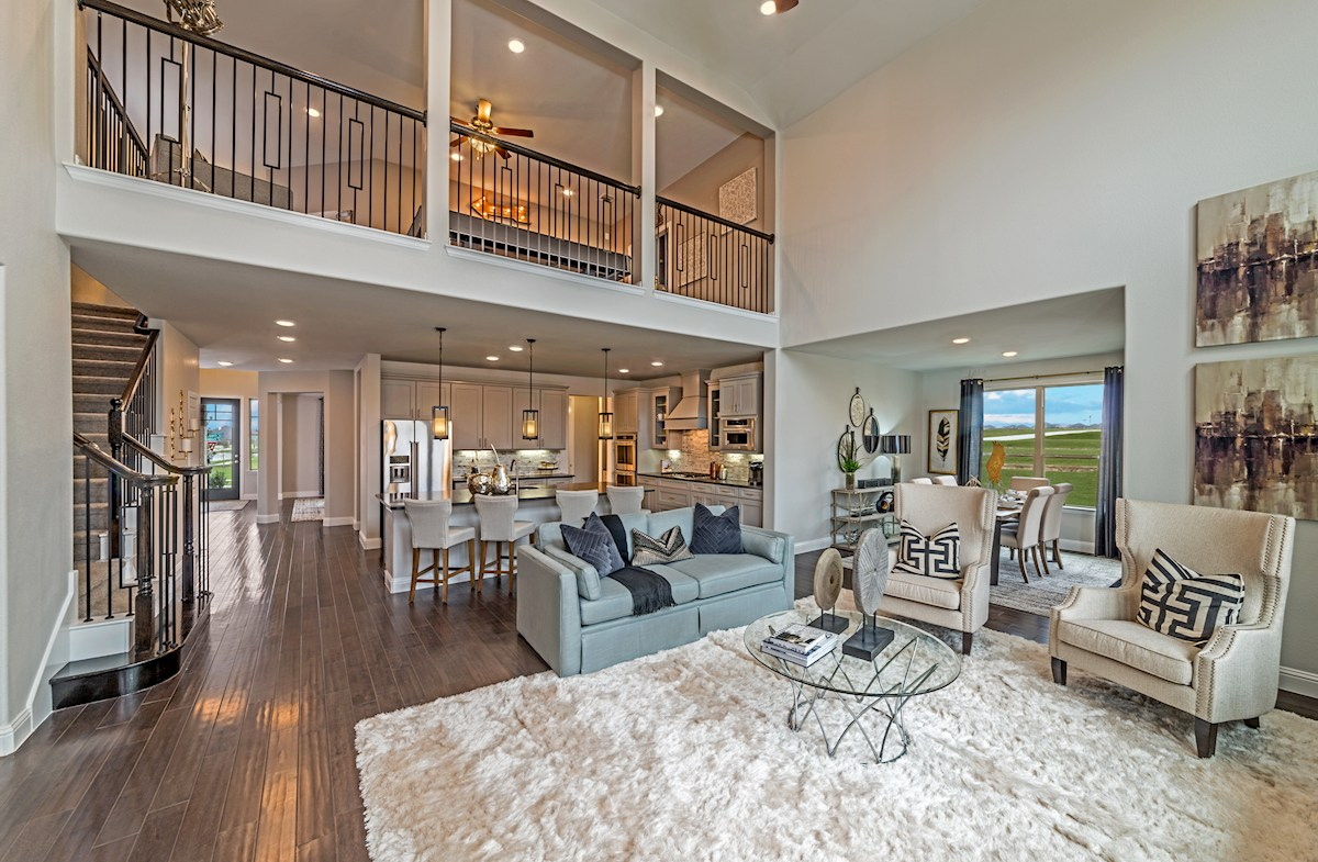 Wildwood at Oakcrest Lockhart spacious great room