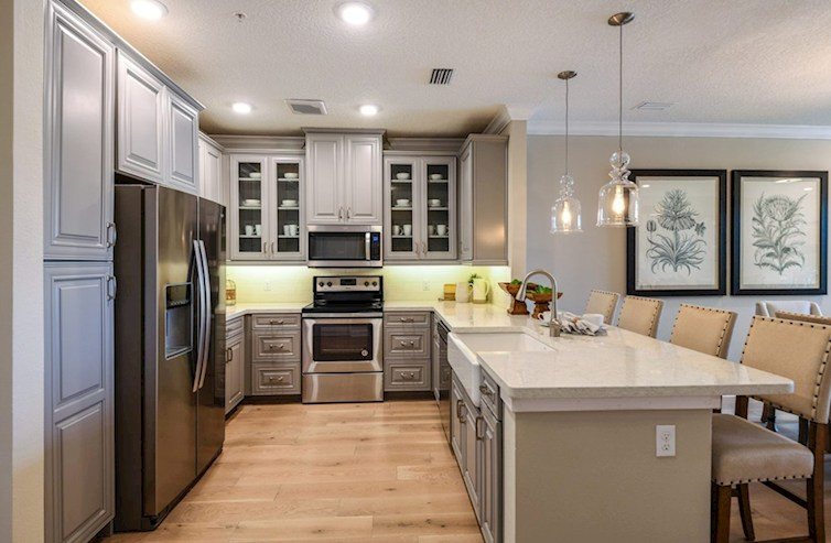 Gatherings® of Lake Nona Bradford chef-inspired kitchen