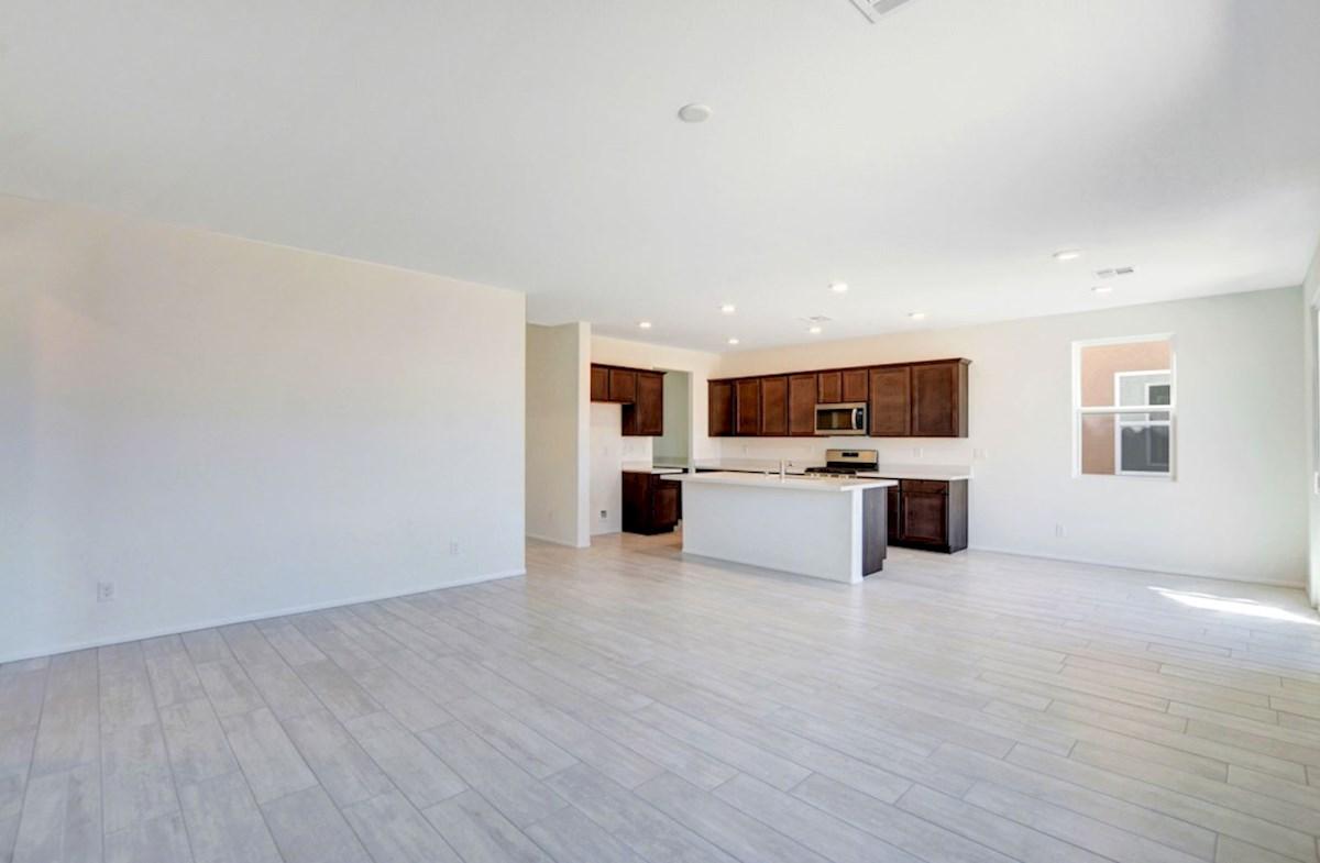 Verano quick move-in open concept family room in the Verano #25
