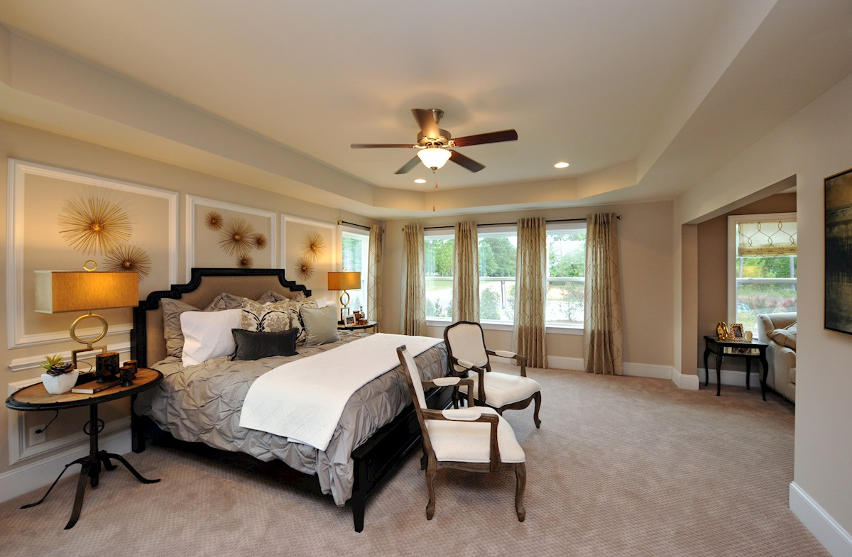 Avocet Belmont spacious master bedroom