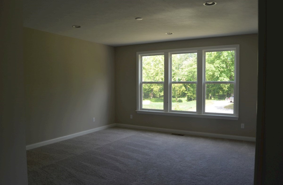 Charleston quick move-in Master bedroom with wooded view