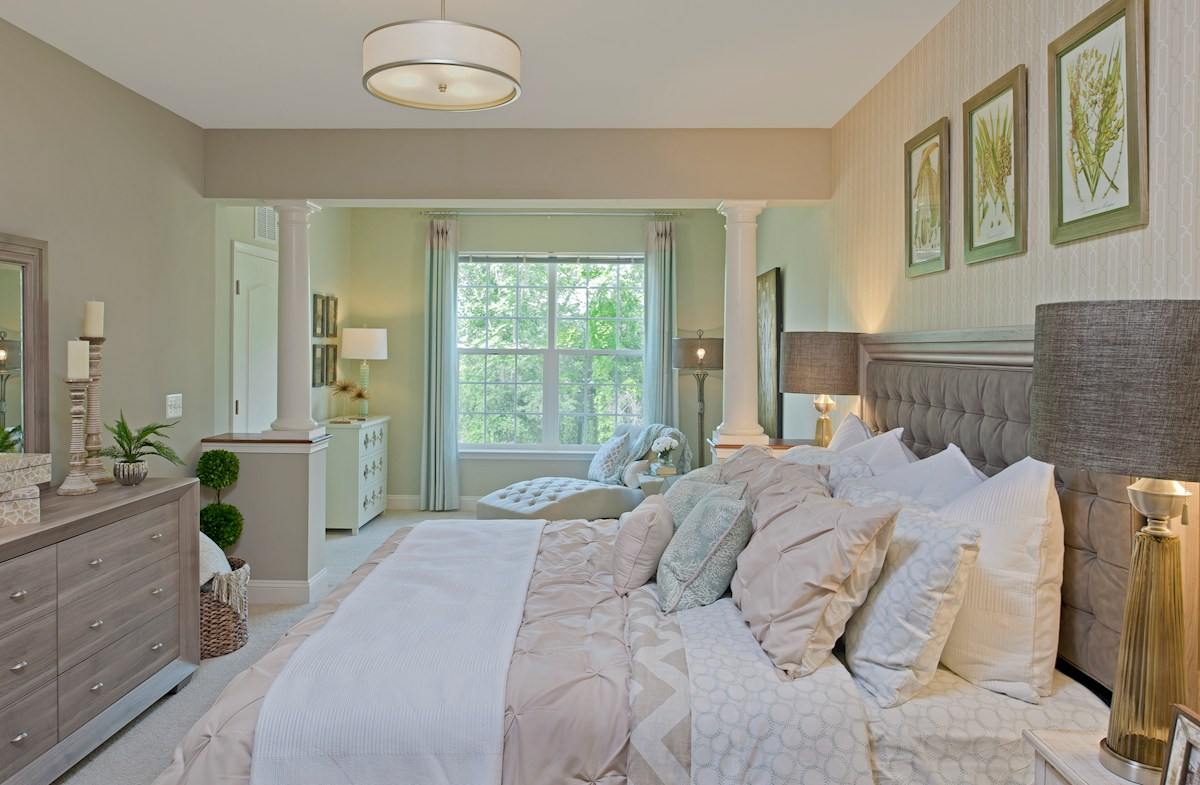 Gatherings® at Quarry Place Bradford private master bedroom