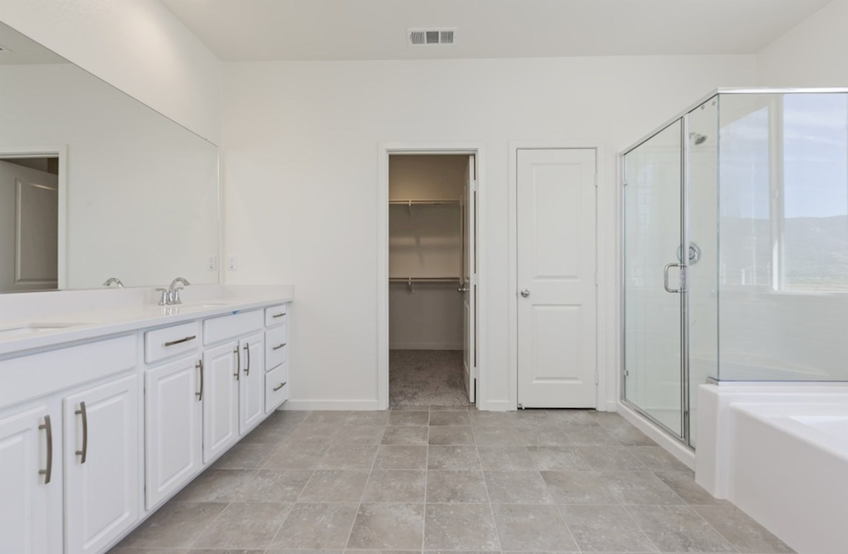 Reserve quick move-in Separate vanities give you more space and privacy