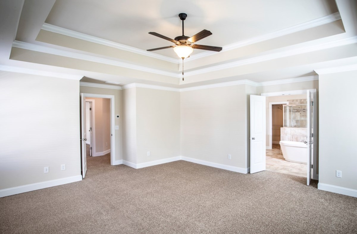 Cambridge quick move-in Master Bedroom with tray ceiling