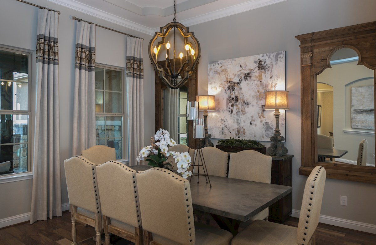 Young Ranch Aldrin Elegant dining room