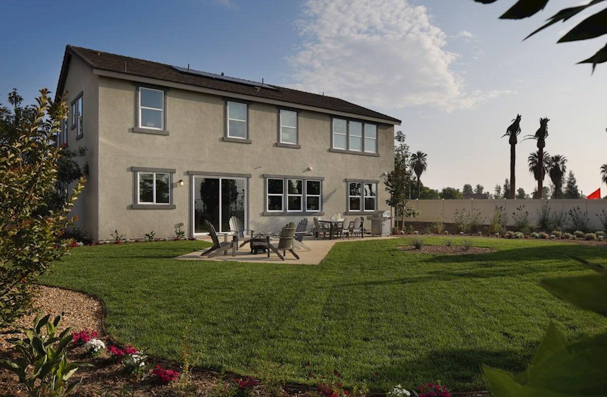 Solstice Indigo spacious and inviting backyard