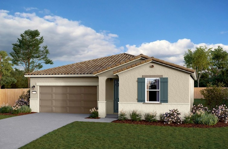 Residence 1 Elevation Spanish Colonial L