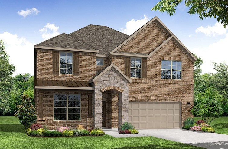 Laredo Elevation French Country A