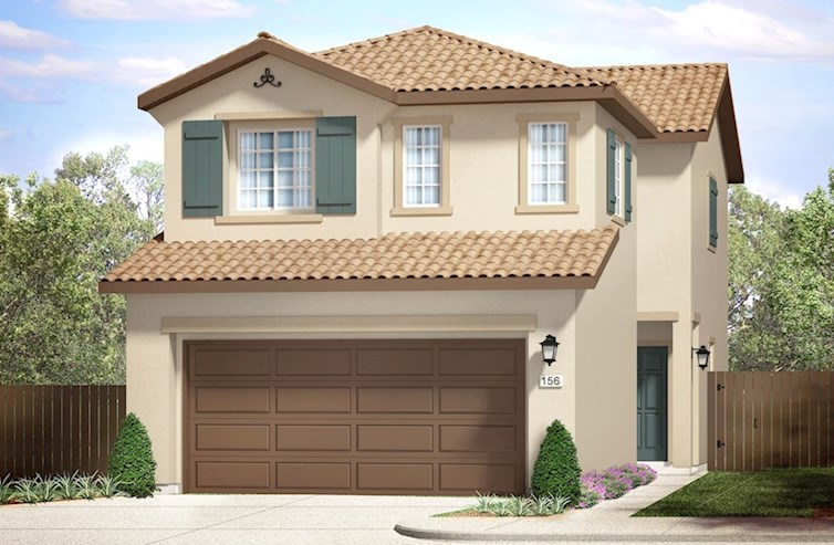 Bristol Elevation French Country A