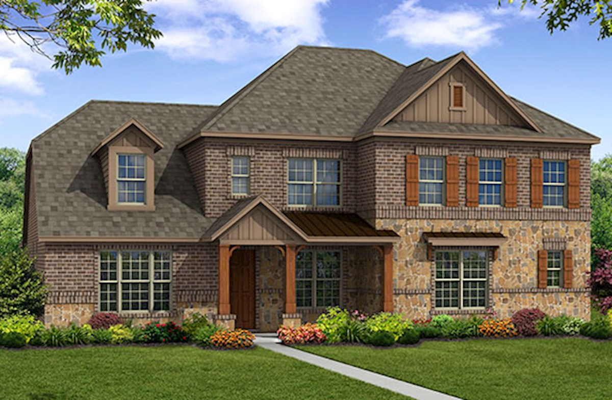 Riverdale Elevation French Country L