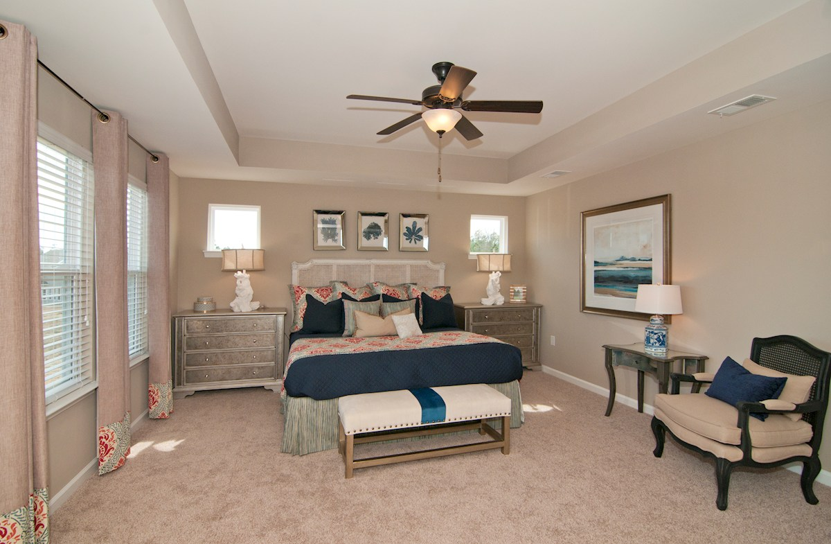 Bella Vita Edisto spacious master bedroom