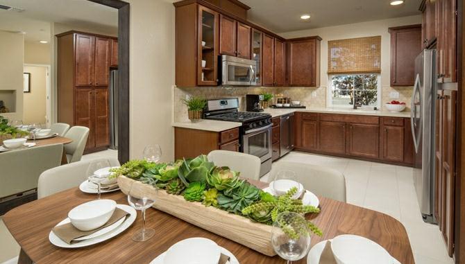 Natomas Field Residence 3 spacious kitchen