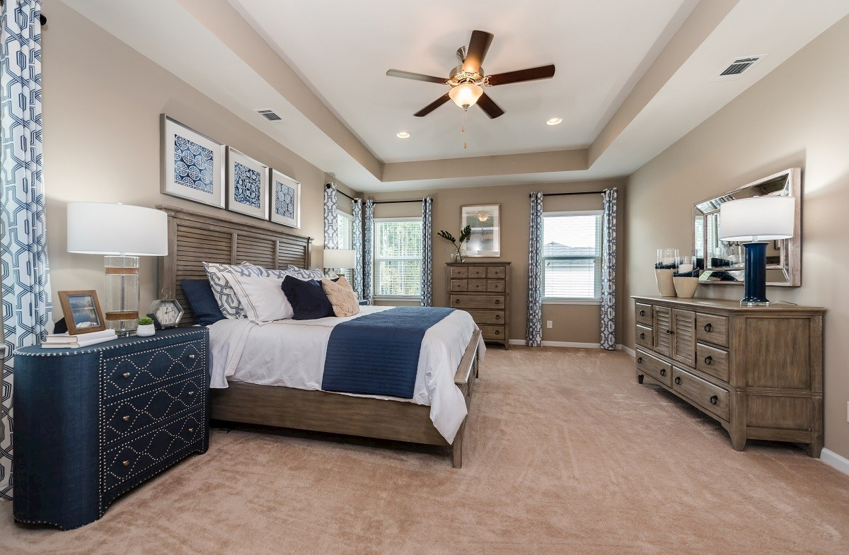 Hunt Club Rushmore bright master bedroom