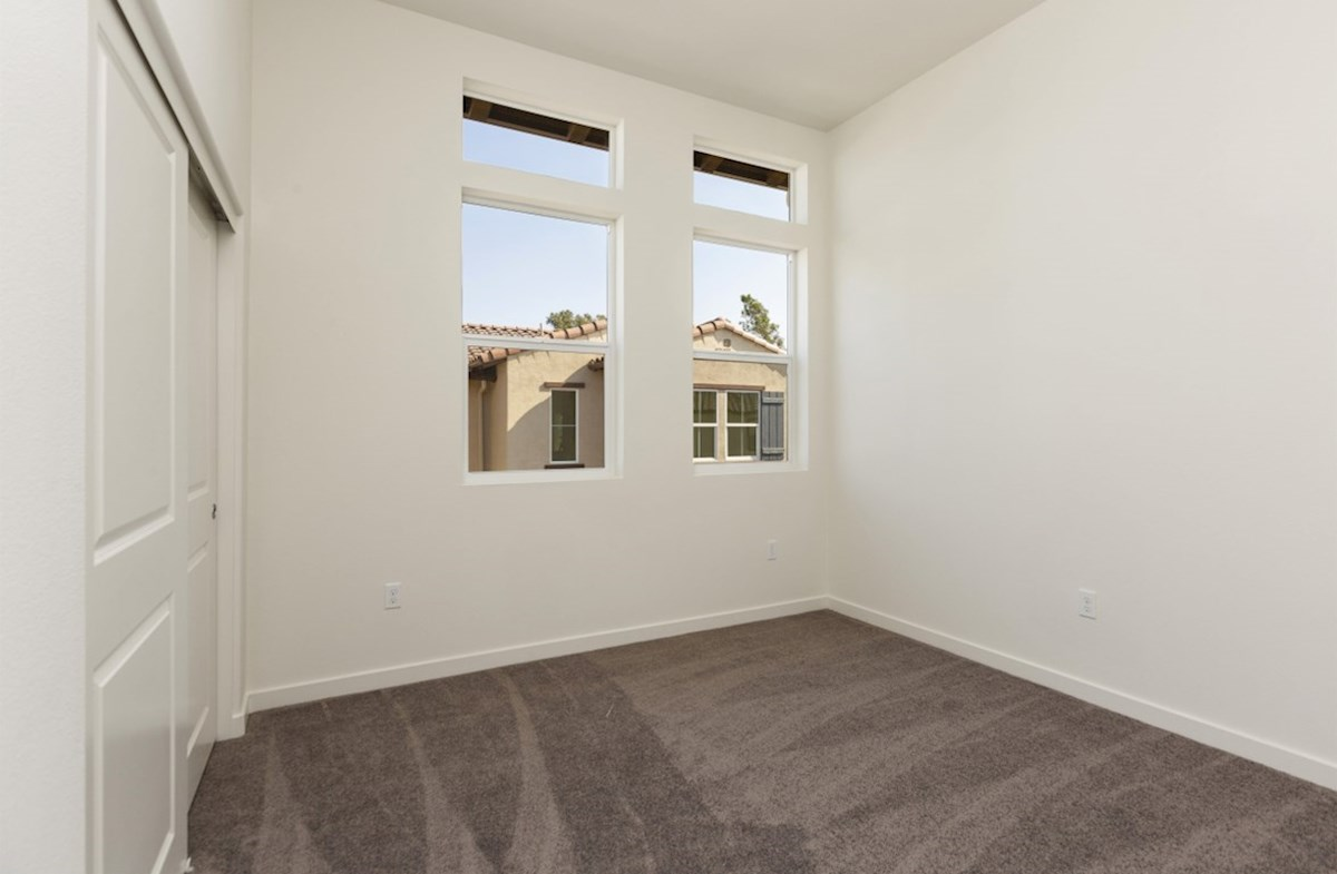 Orchid quick move-in Spacious secondary bedrooms are ideal for guests