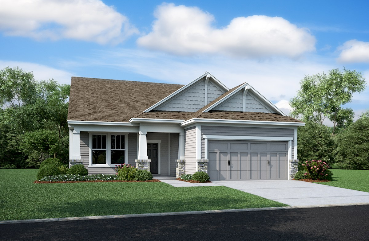 Hamilton Home Plan In Summerland Park Noblesville In Beazer Homes Beazer Homes