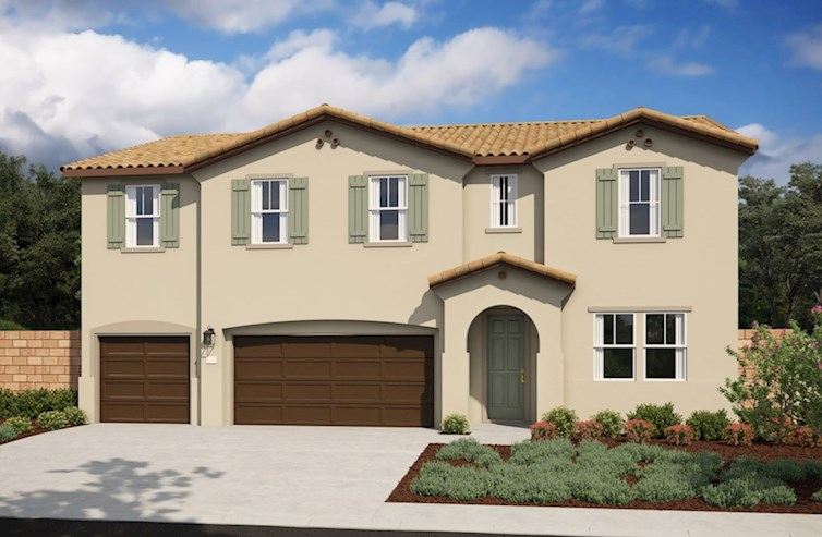 Ocotillo Elevation Spanish Colonial A