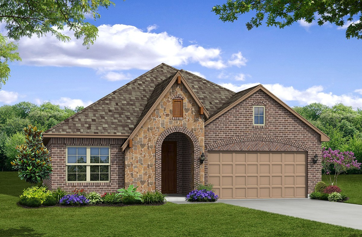 Covington Elevation French Country M