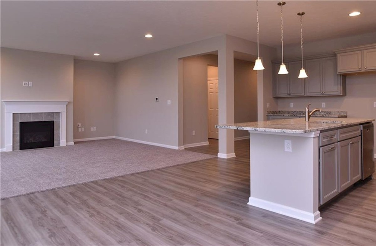 Shelby quick move-in Open concept kitchen and great room