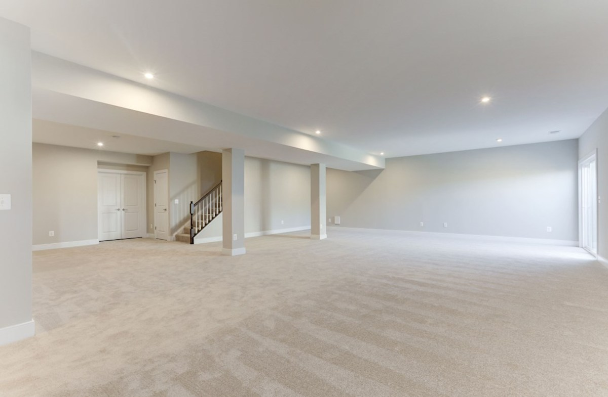 Hadleigh quick move-in finished recreation room